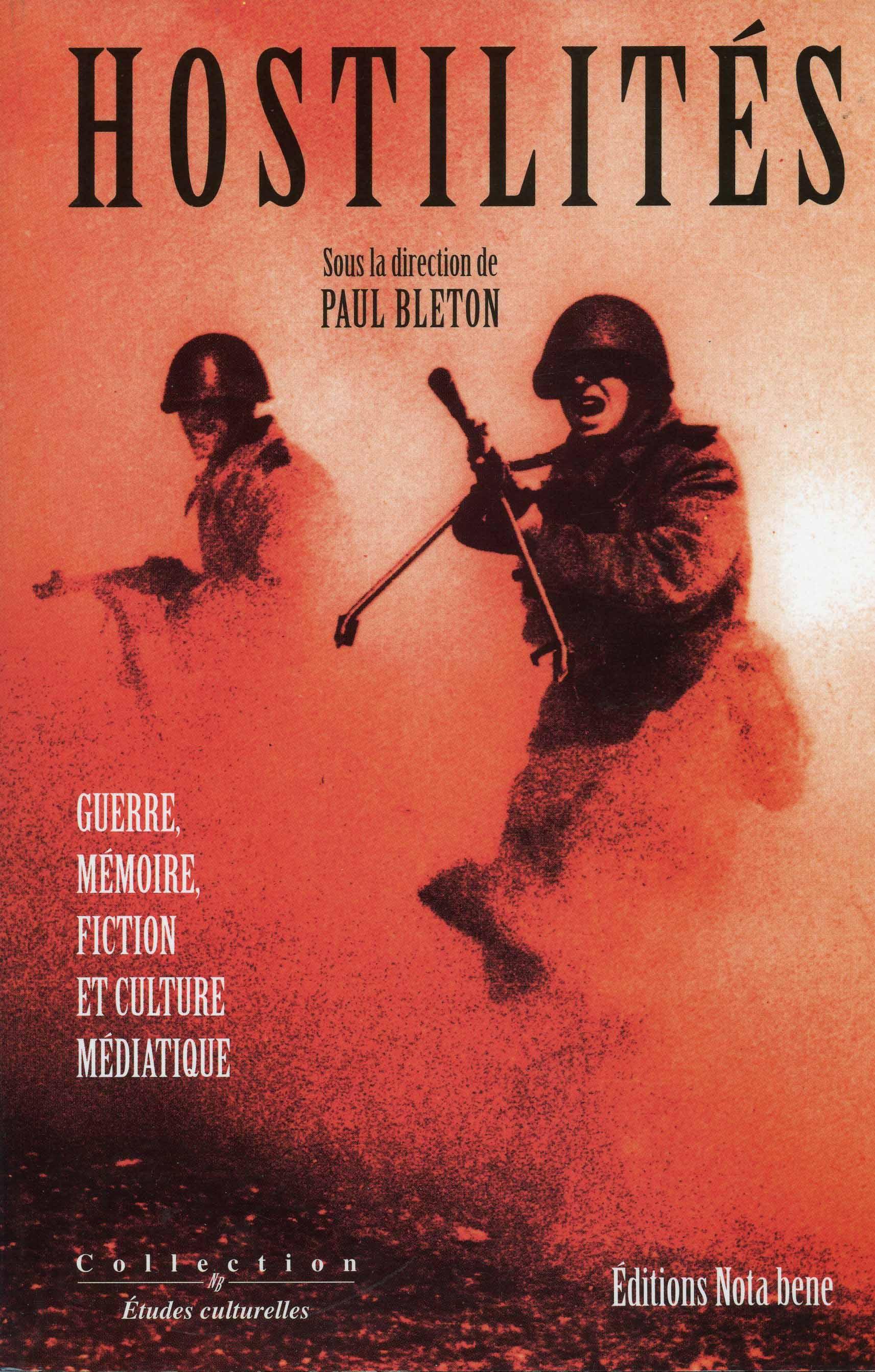 hostilités | guerre, mémoire, fiction et culture médiatique