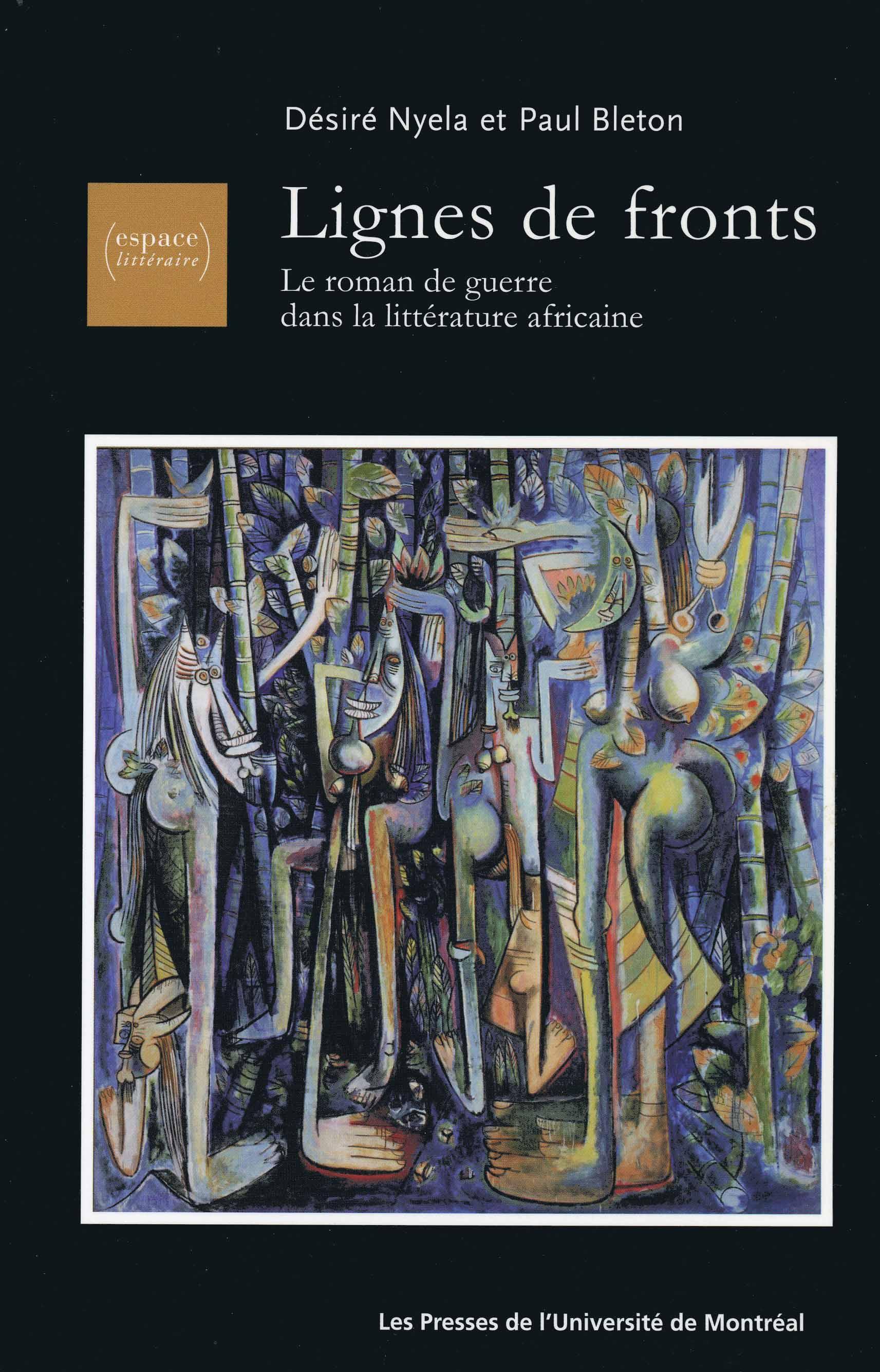 lignes de fronts | le roman de guerre dans la littérature africaine
