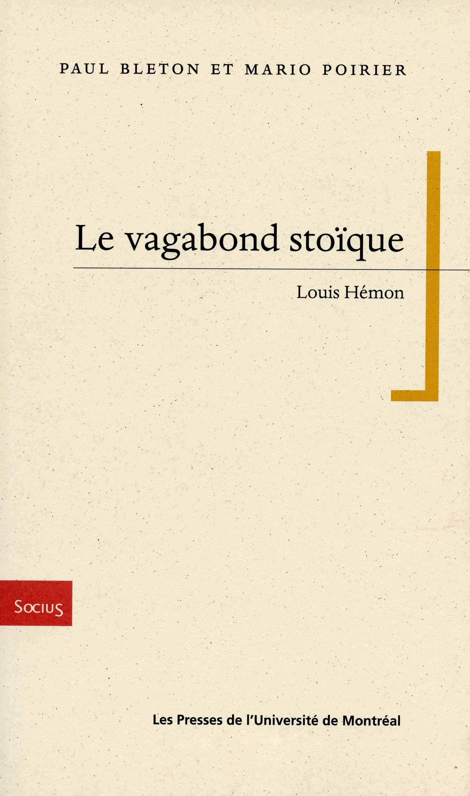 le vagabond stoïque | louis hémon